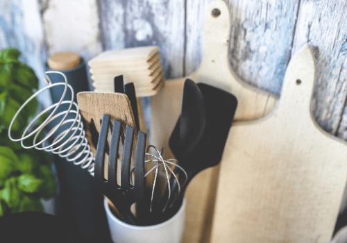 Beim Kochen unverzichtbar: die Küchenhelfer