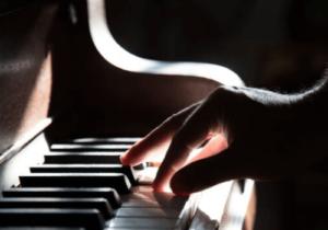 Ein Beispiel für ein Tasteninstrument - das Klavier