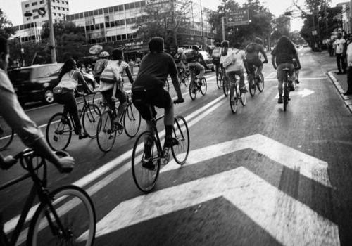 Fahrrad fahren gehört heute zum Alltag dazu