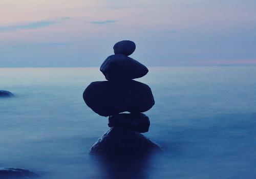Innere Balance und Ausgeglichenheit sorgen dafür, dass wir uns wohlfühlen
